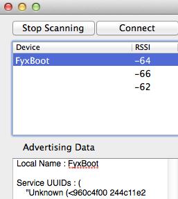 Detecting Qualcomm's Gimbal beacons in Mac OS X Mavericks